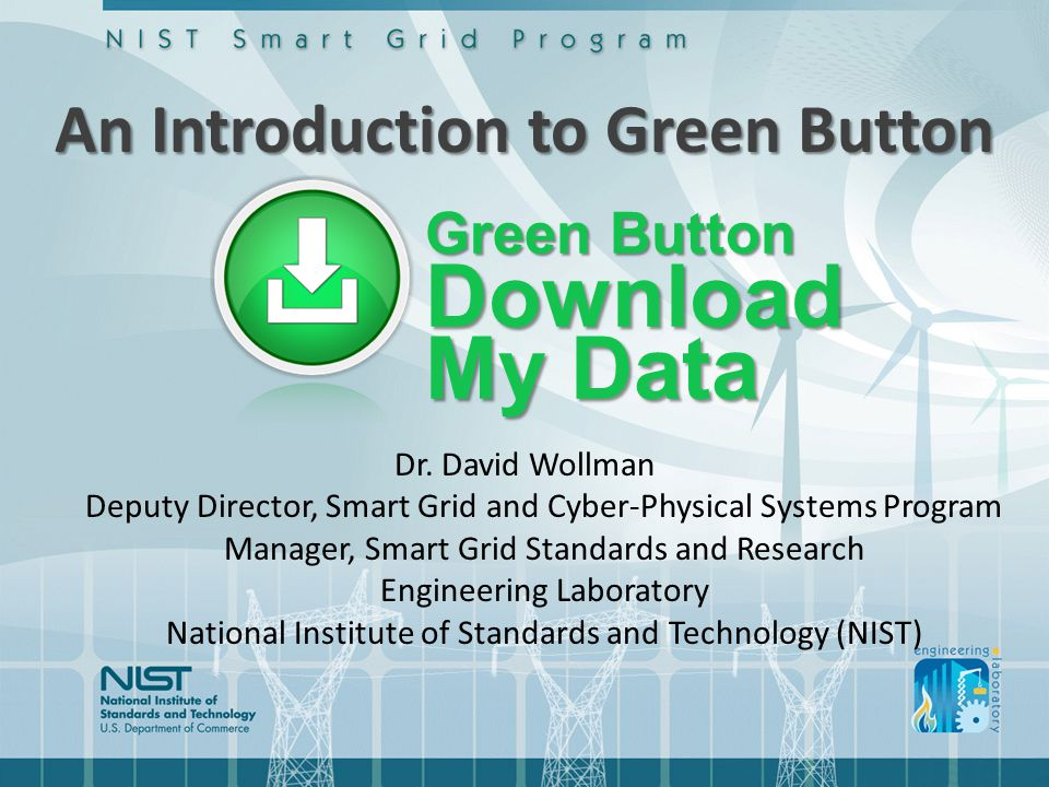 An Introduction to Green Button Dr.