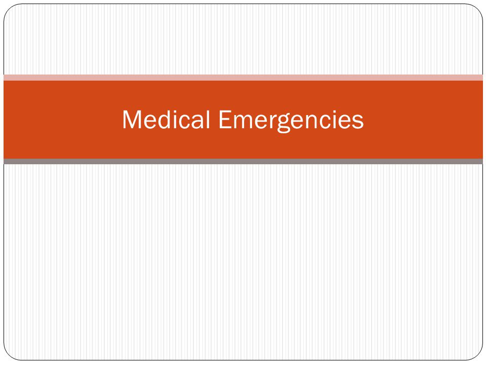Typical emergencies in a work Zone 16,090 cases Injury and Illness 1. Contacts with Objects 2. Falls 3. Slips & Trips 4. Overexertion