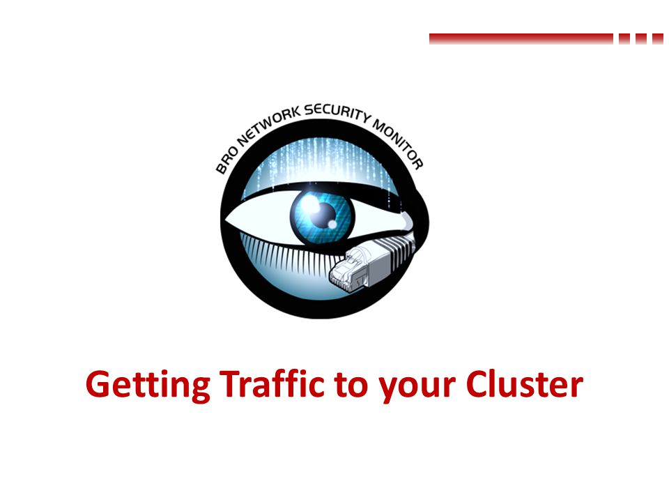 Getting Traffic to your Cluster