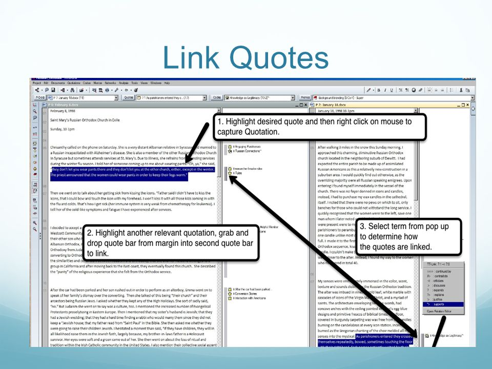 Link Quotes