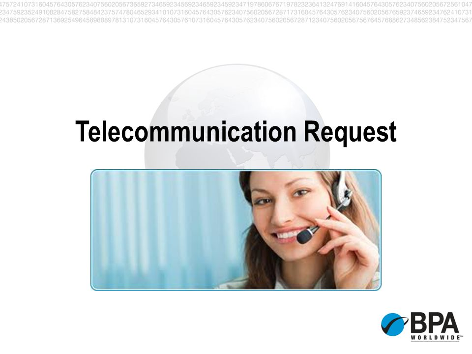 Telecommunication Request