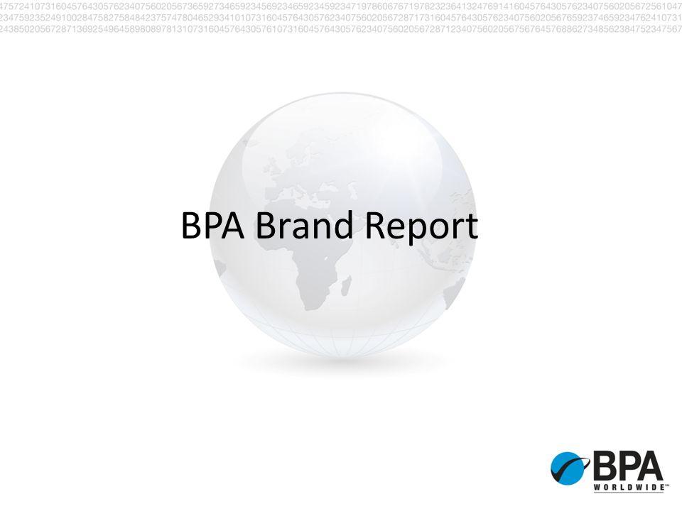 BPA Brand Report