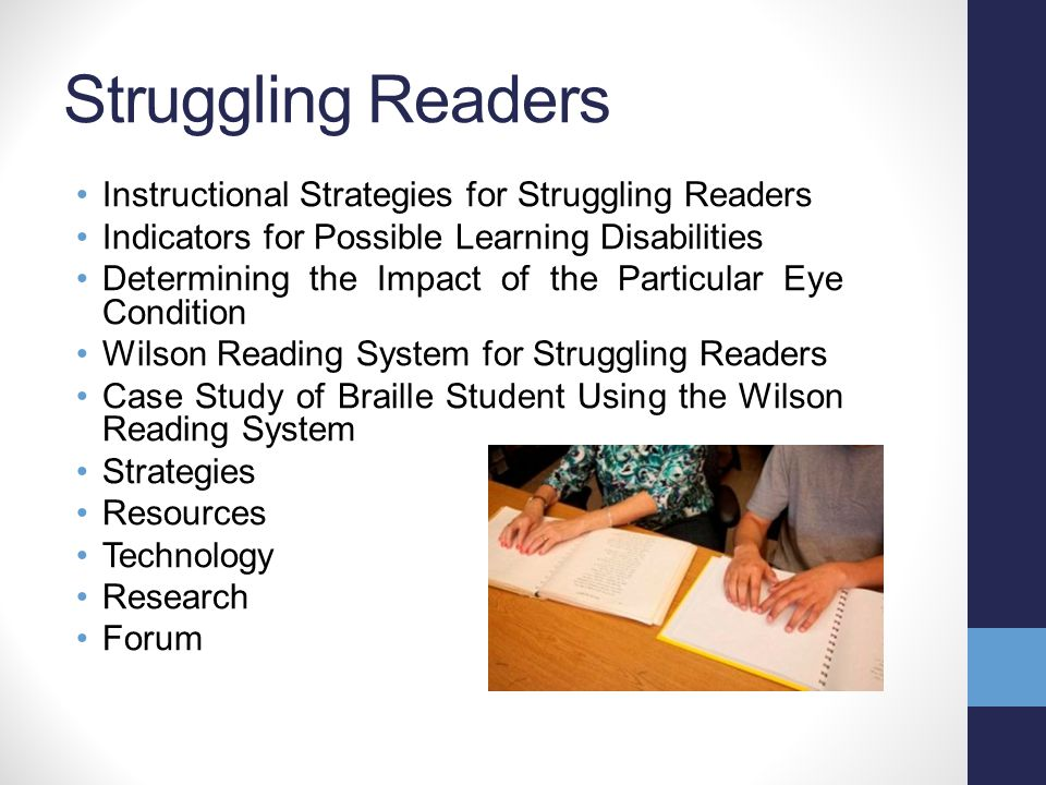 Braille Pre-Braille Instructional Strategies for Teaching Braille Tactile Graphics Production of Braille Brailler Repair Strategies Resources Technology Research Forum