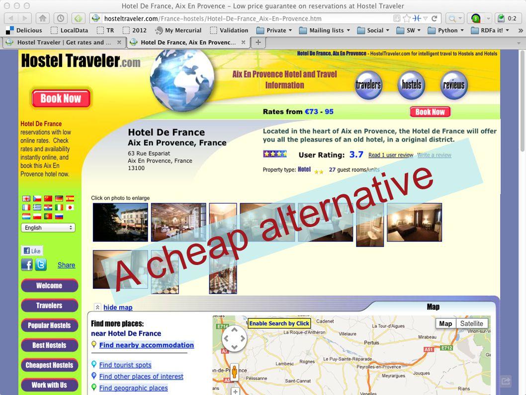 A cheap alternative