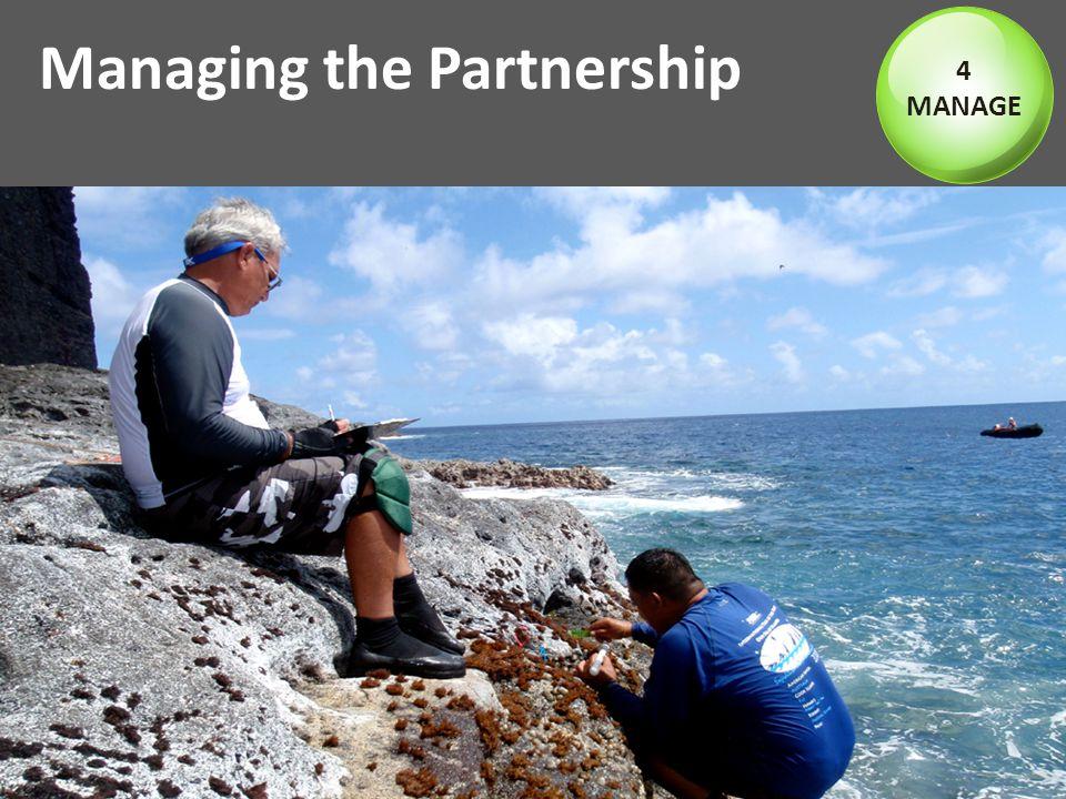 Managing the Partnership 4 MANAGE
