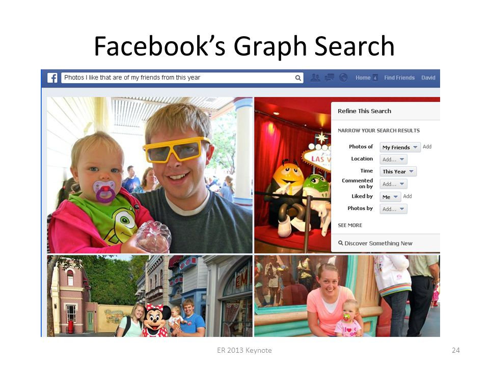 Facebooks Graph Search ER 2013 Keynote24