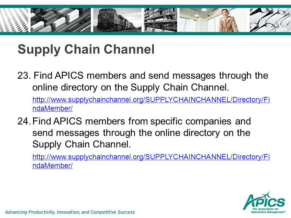 Supply Chain Channel 23.