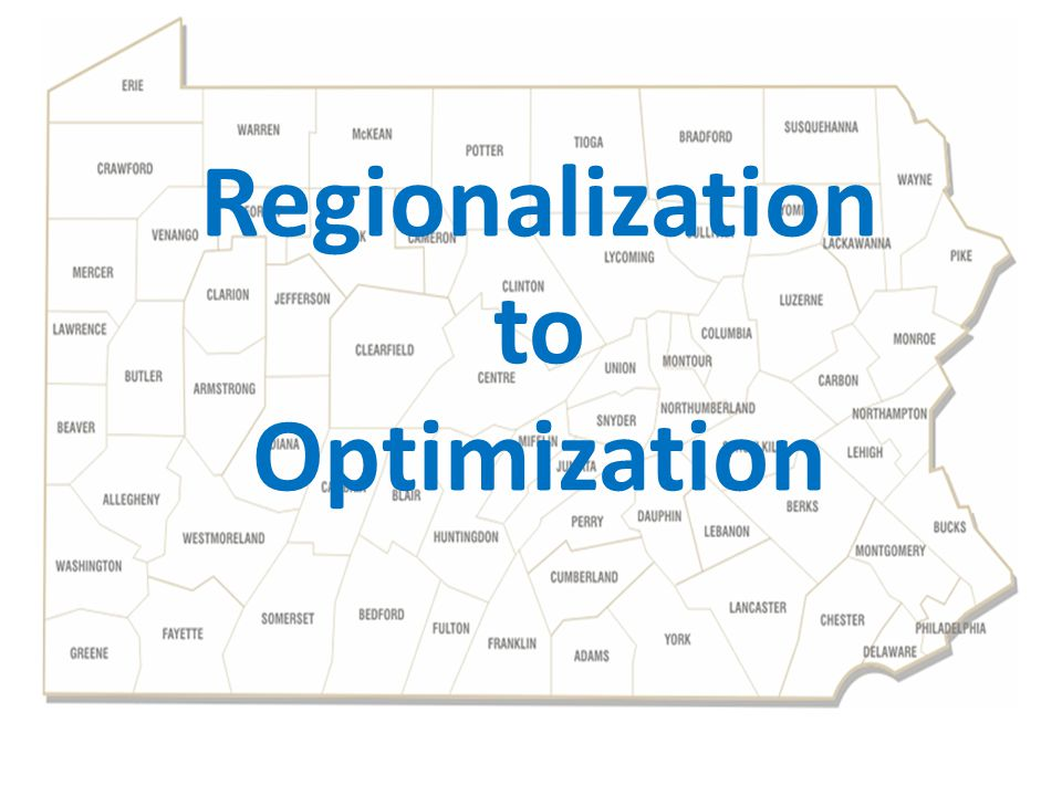 Regionalization to Optimization