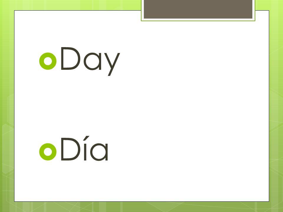 Tomorrow Mañana