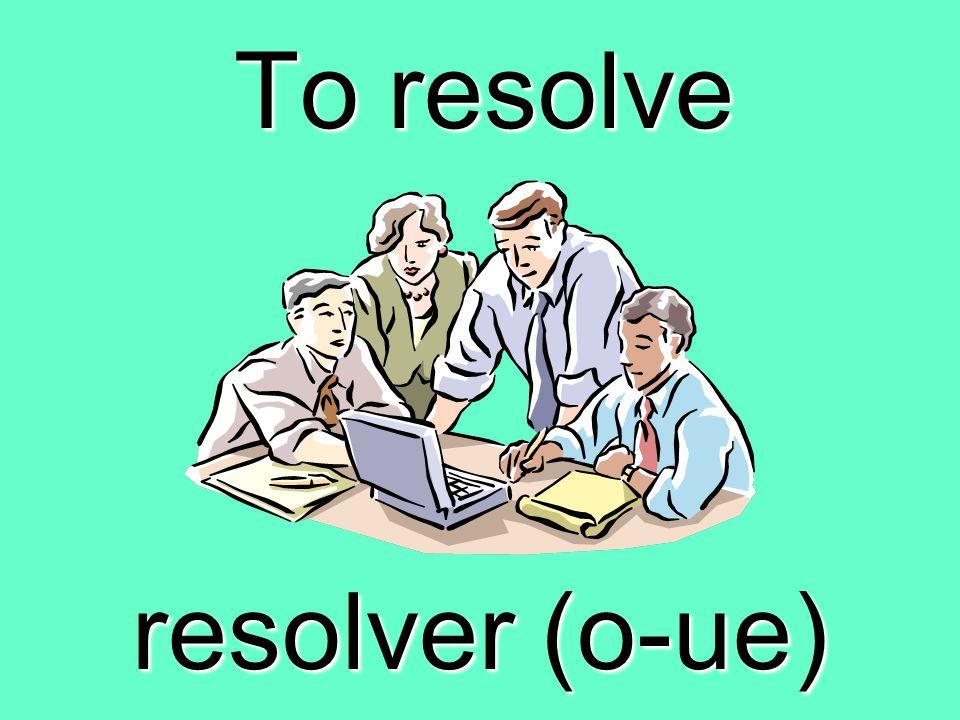 To admit, recognize reconocer (czc)
