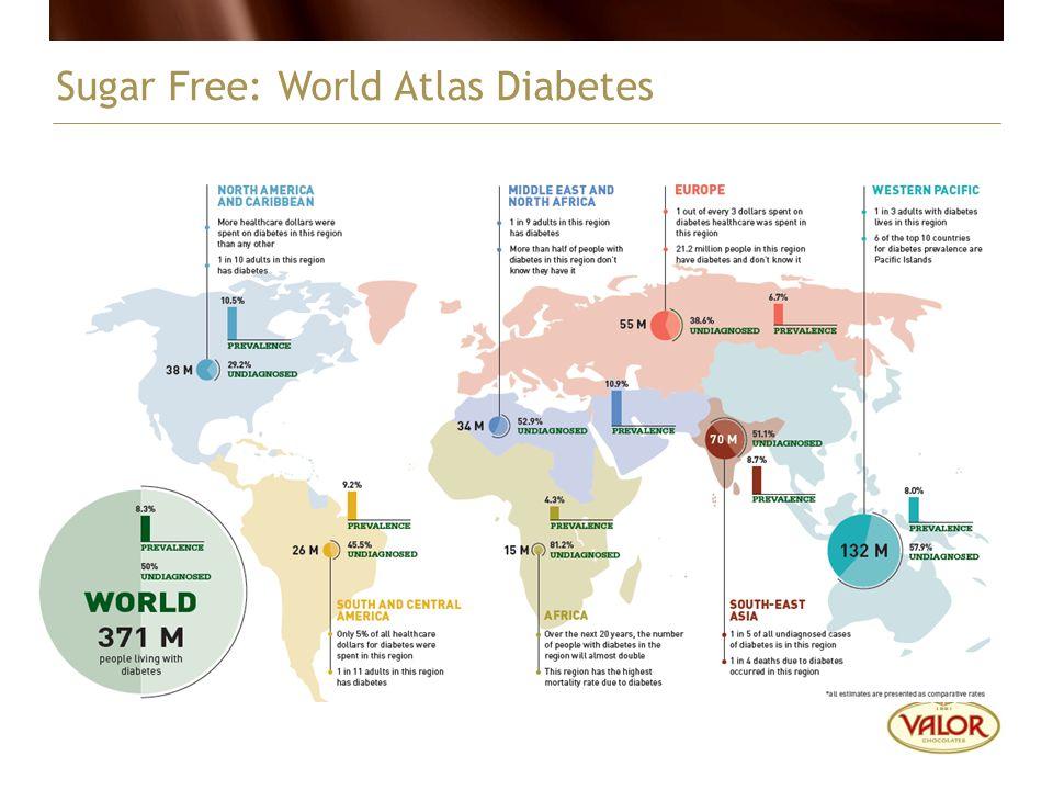 Sugar Free: World Atlas Diabetes