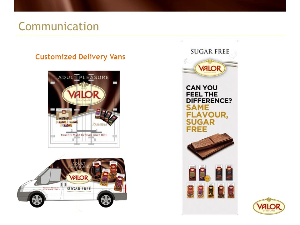 Communication Customized Delivery Vans