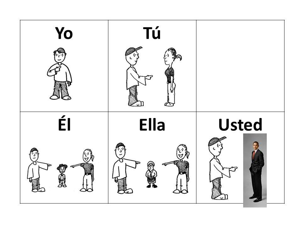 YoTú ÉlEllaUsted