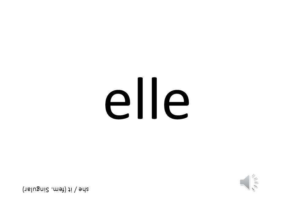 les those (plural)
