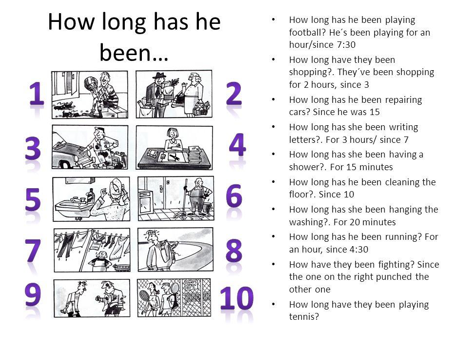 How long has he been… How long has he been playing football.