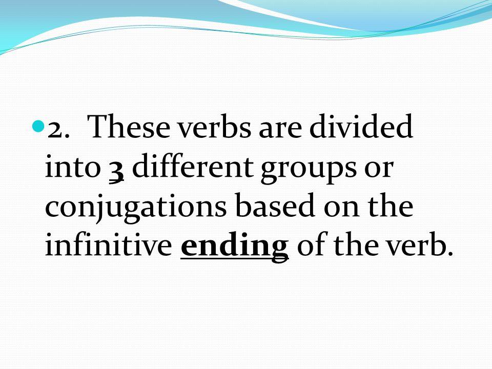 1. We have learned about les infinitifs et les pronoms sujets.