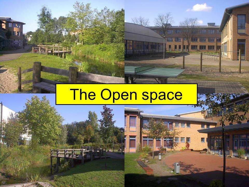 Außengelände The Open space