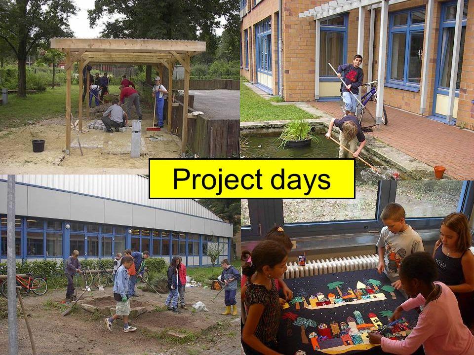 Projekttage Project days