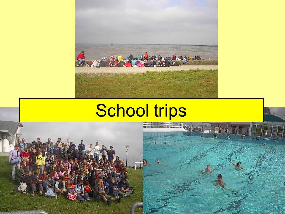 Klassenfahrten School trips