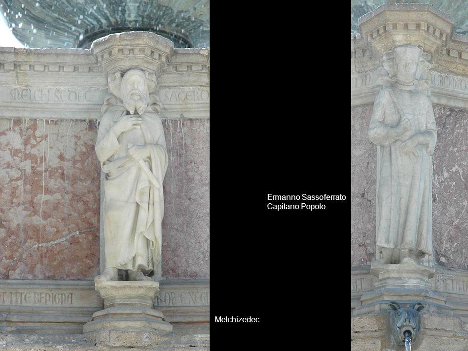Melchizedec Ermanno Sassoferrato Capitano Popolo