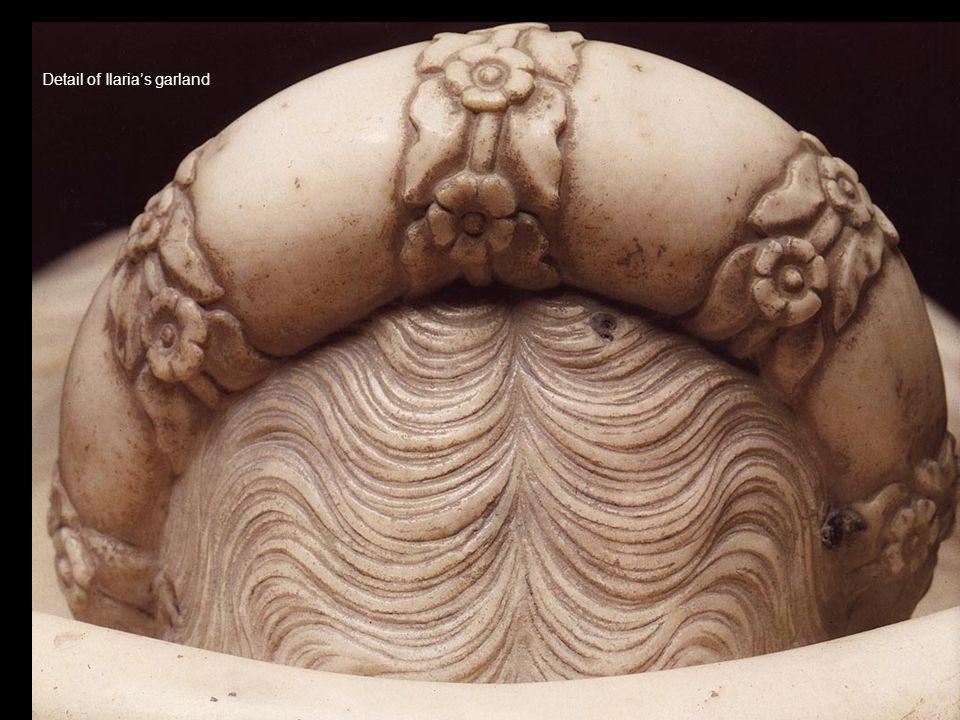 Detail of Ilarias garland
