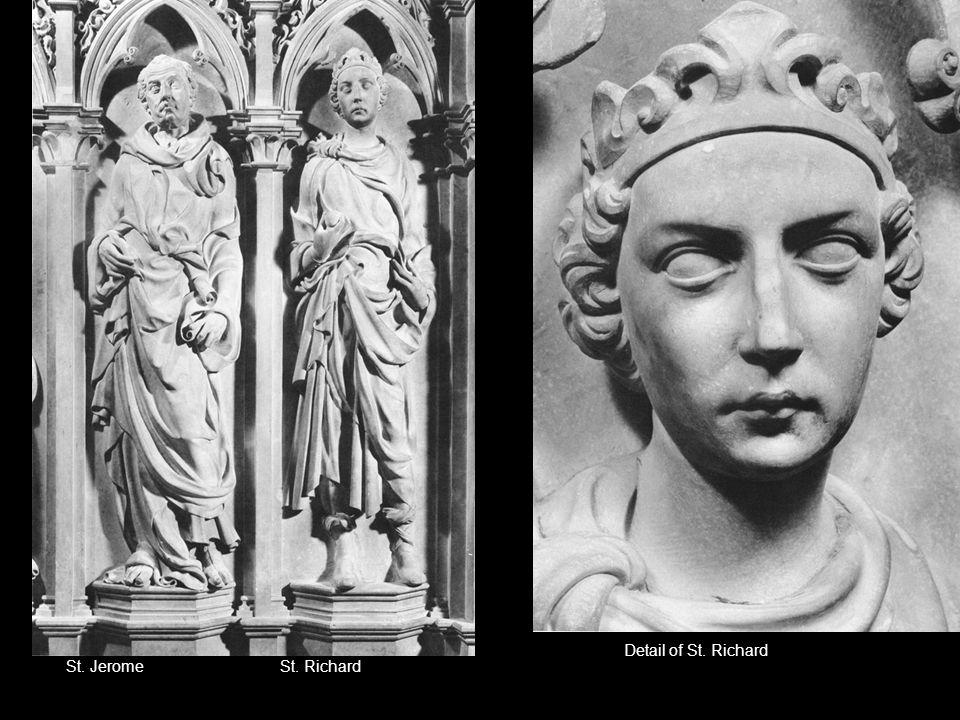 St. JeromeSt. Richard Detail of St. Richard
