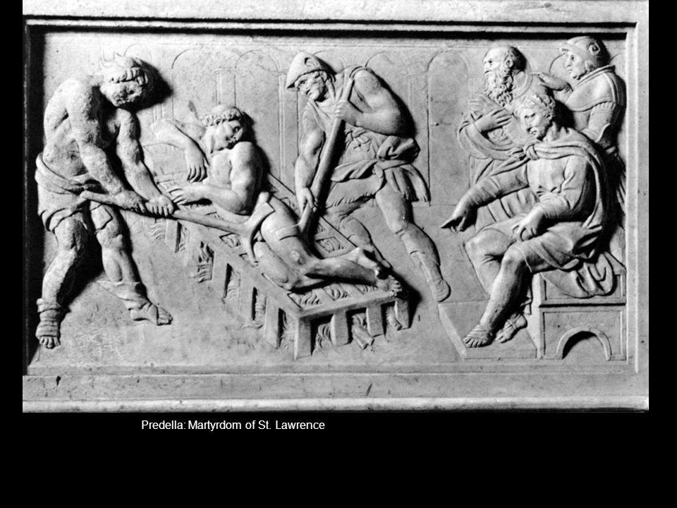 Predella: Martyrdom of St. Lawrence