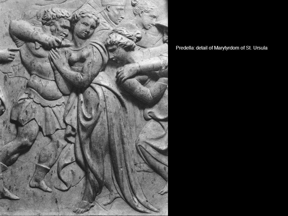 Predella: detail of Marytyrdom of St. Ursula