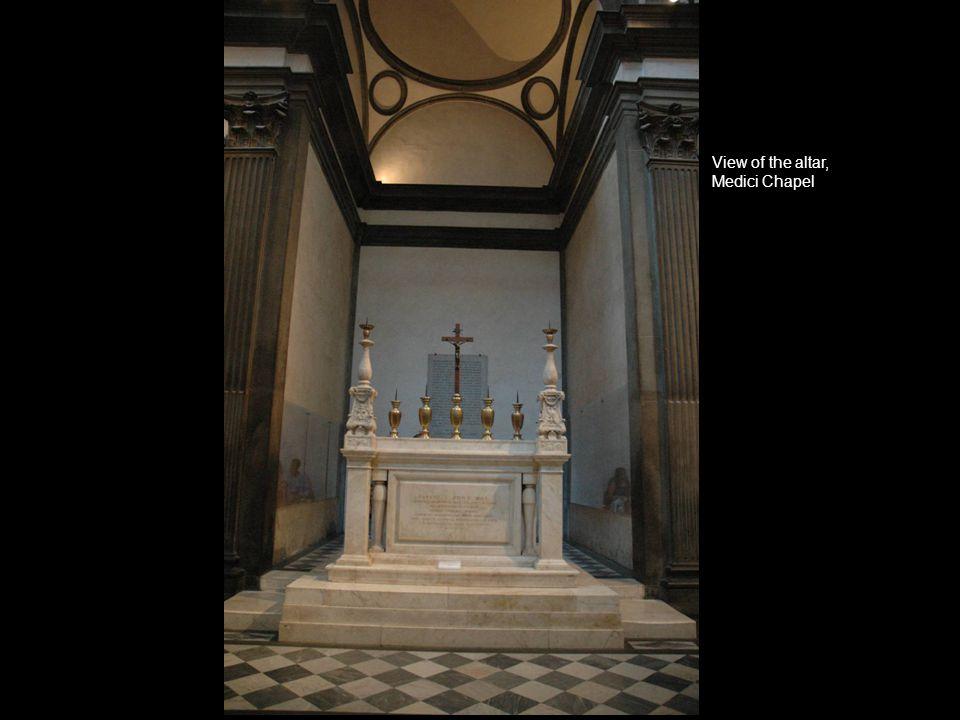 View of the altar, Medici Chapel