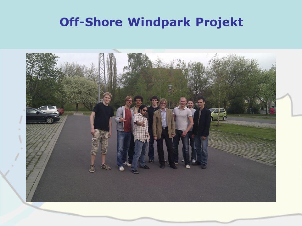 Off-Shore Windpark Projekt Kaliningrad