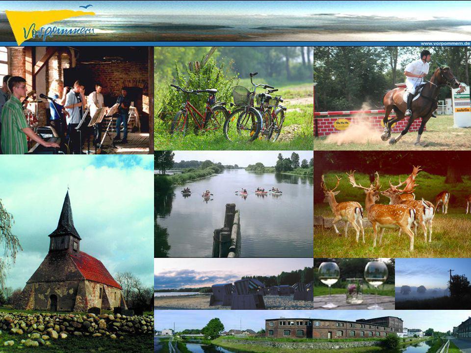 www.vorpommern.de – info@vorpommern.de – Tel 03834 8910 Regionaler Fremdenverkehrsverband e.V. Project WaterTour Interreg IIIc