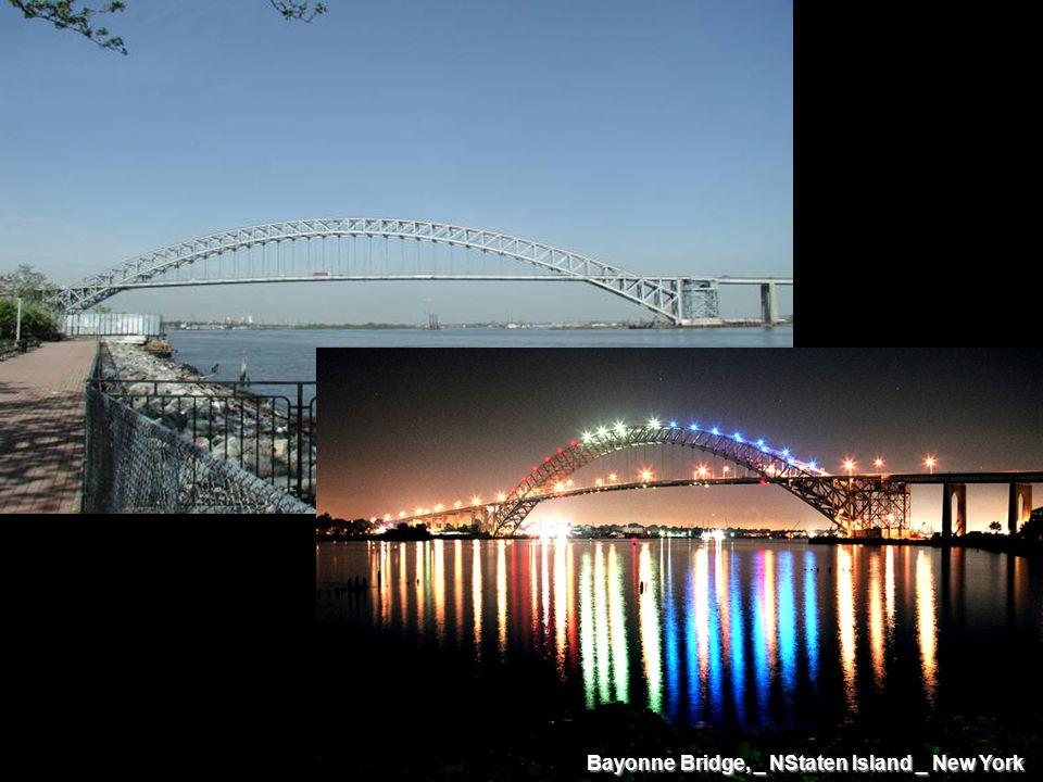 Bayonne Bridge, _ NStaten Island _ New York