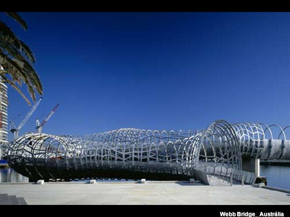 Webb Bridge_ Austrália Webb Bridge_ Austrália