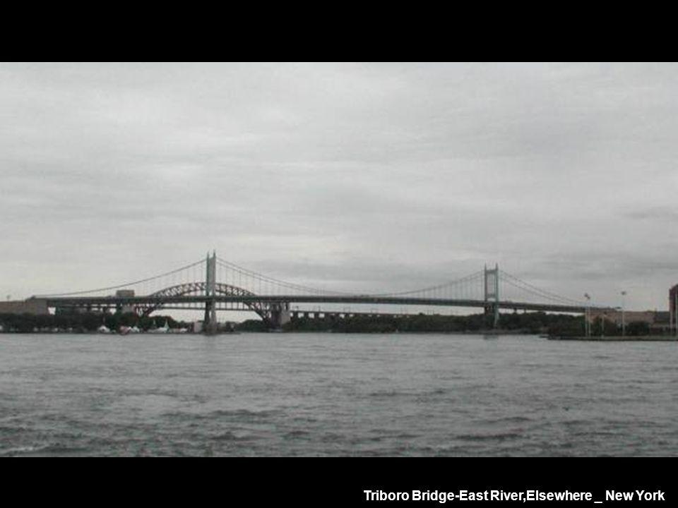 Triboro Bridge-East River,Elsewhere _ New York