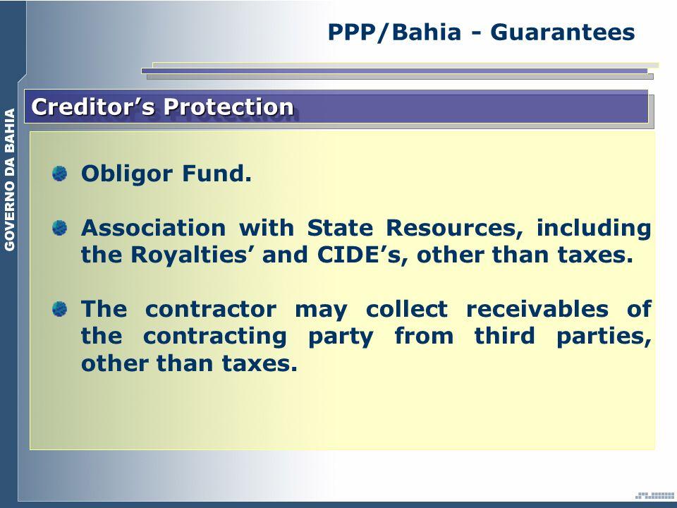 Creditors Protection Obligor Fund.