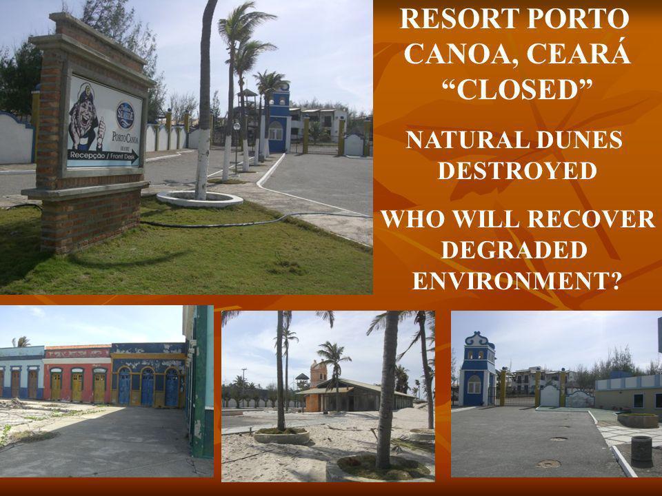 THE RESORTS OF CEARÁ NOVA ATLANTIDA BLOCKED BY LAW RESORT DO PIRATA COMMUNITY RESISTENCE AQUIRAZ BEACH RESORT COMMUNITY VICTORY AQUIRAZ RIVIERA BEACH