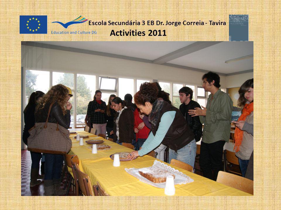 Escola Secundária 3 EB Dr. Jorge Correia - Tavira Activities 2011