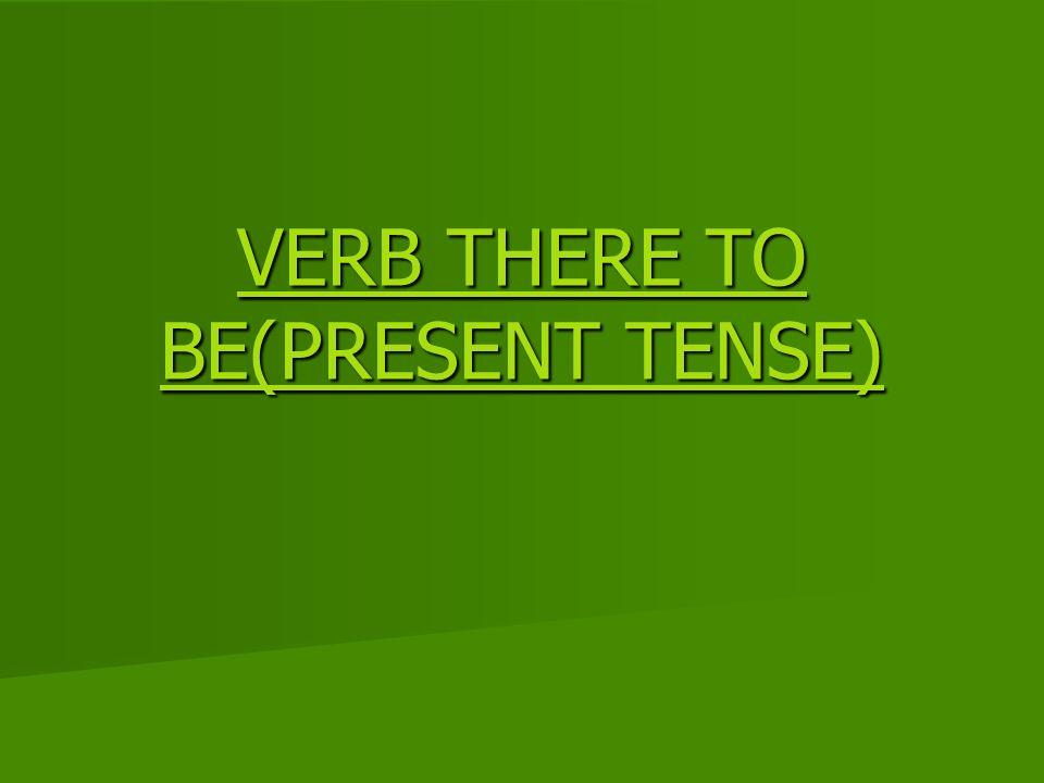 O verbo there to be é o verbo haver, existir em inglês.