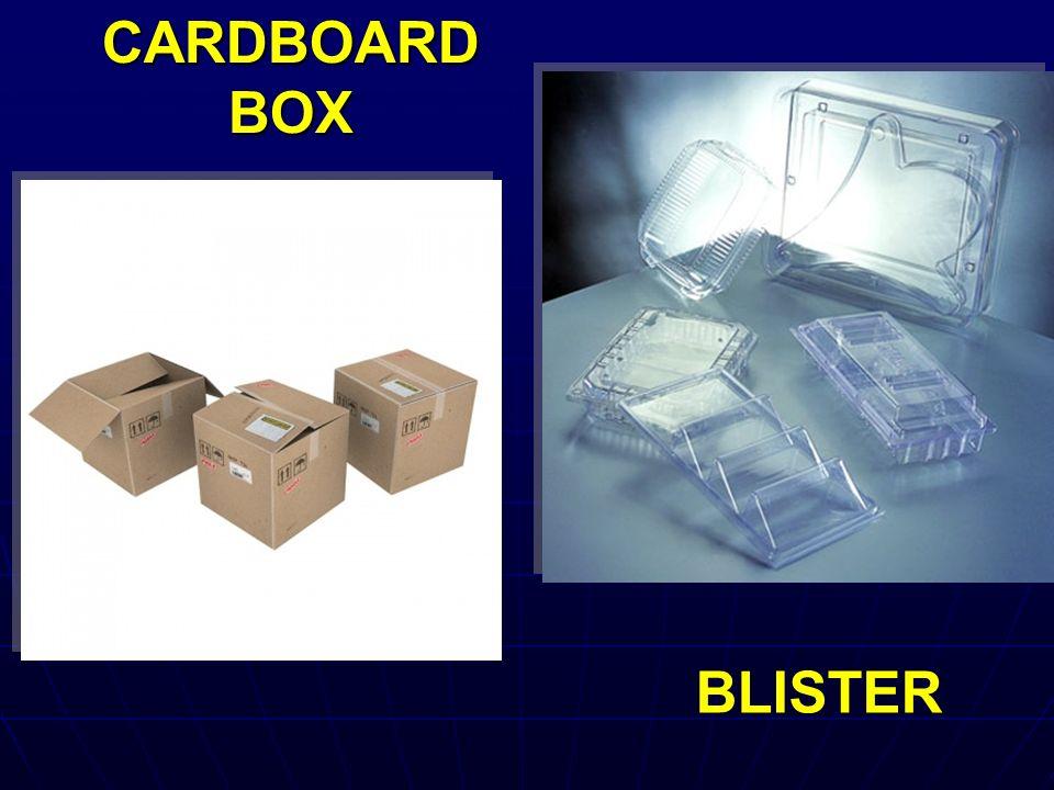 CARDBOARD BOX BLISTER