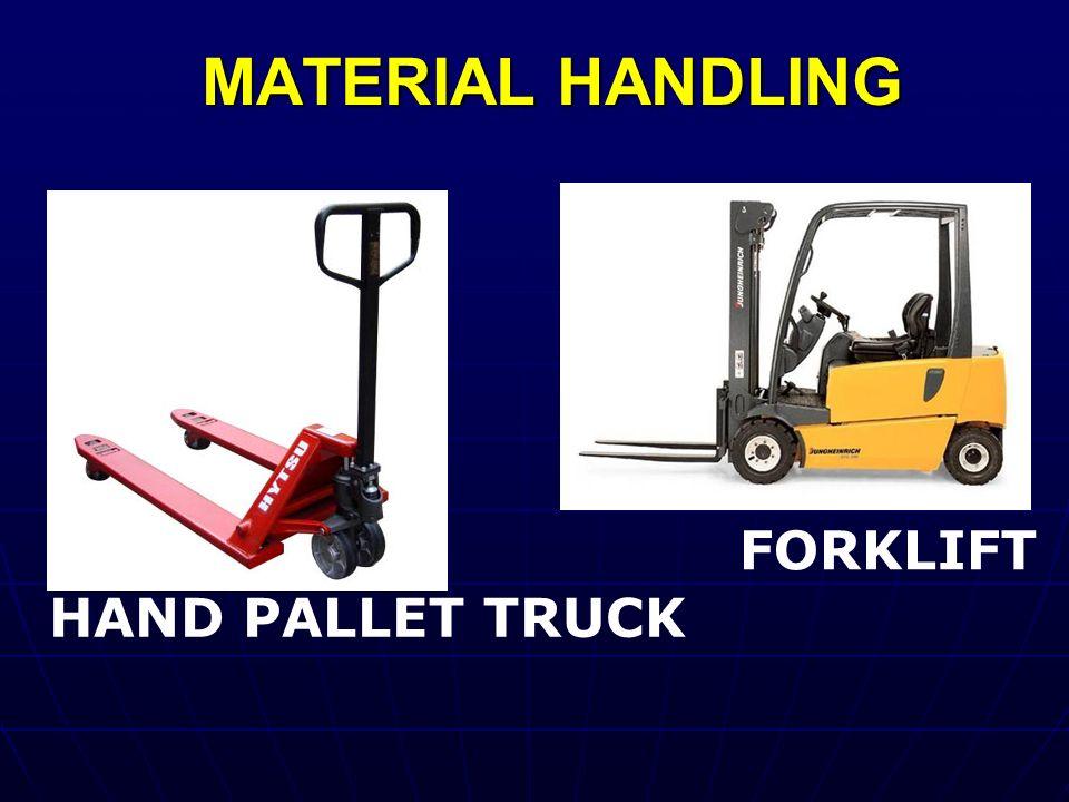 MATERIAL HANDLING HAND PALLET TRUCK FORKLIFT