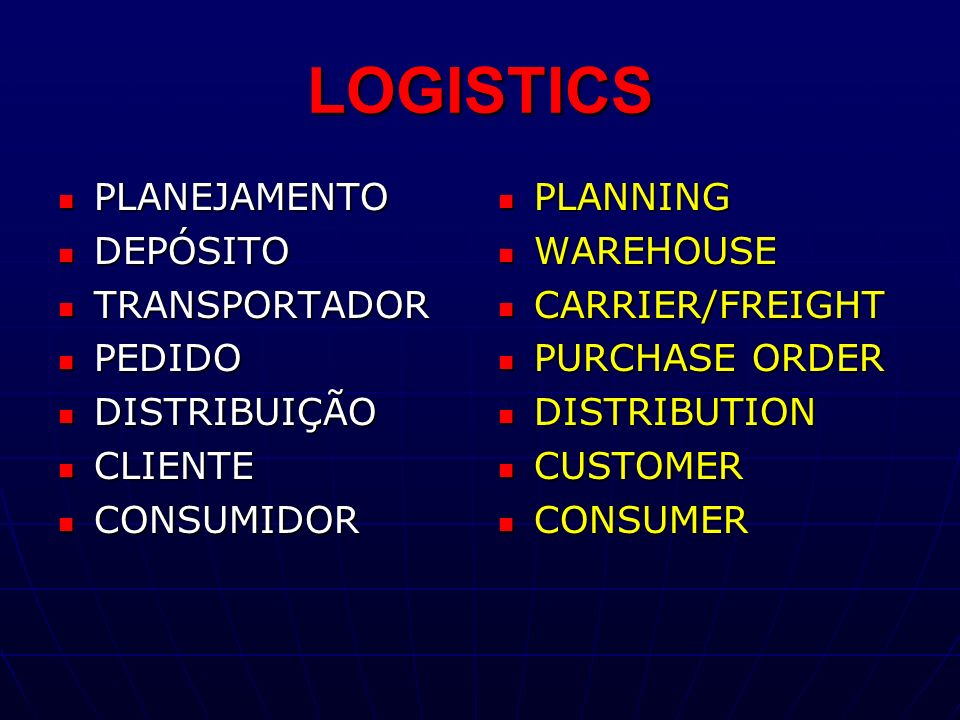 SUPPLY CHAIN Partners, serving the same customer.