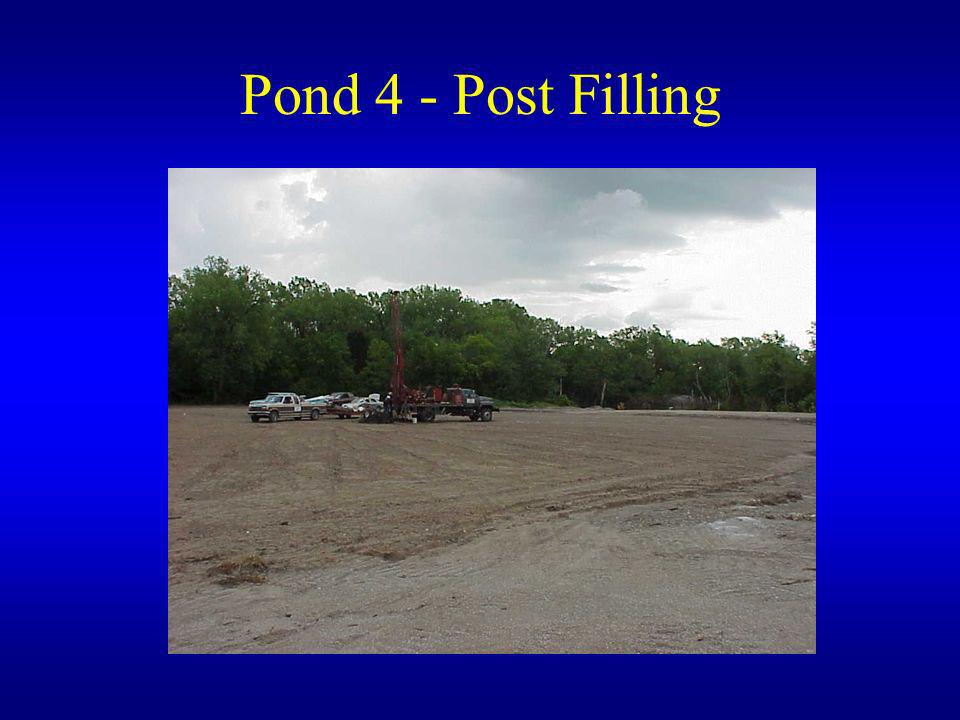 Pond 4 - Post Filling