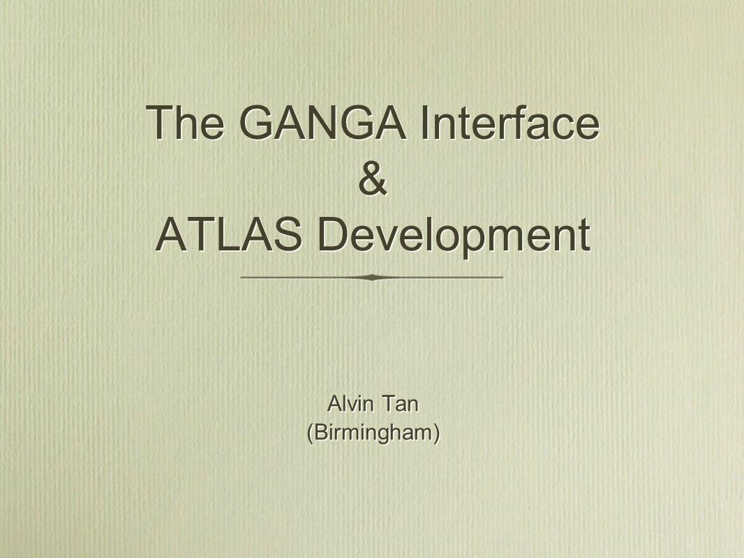Agenda ATLAS - DC2 - ATLAS/LCG Integration Tests - Automatic Software Packaging and Installation - Distributed Metadata Services - ATLAS Distributed Analysis (ADA) GANGA - Role in ADA - Current status - Job Options Editor (JOE) - Future plans ATLAS - DC2 - ATLAS/LCG Integration Tests - Automatic Software Packaging and Installation - Distributed Metadata Services - ATLAS Distributed Analysis (ADA) GANGA - Role in ADA - Current status - Job Options Editor (JOE) - Future plans