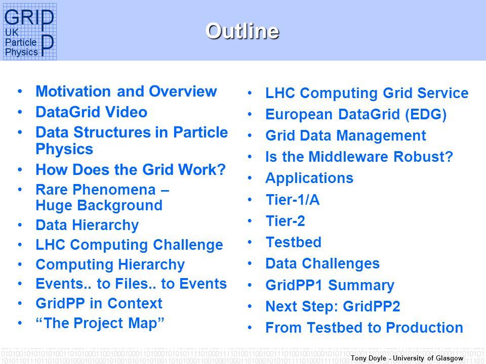 Tony Doyle - University of Glasgow DataGrid Video Clip…