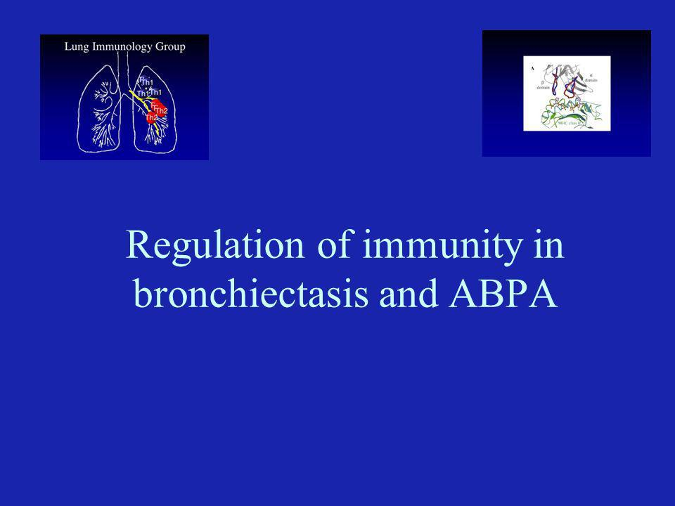 Bronchiectasis Irreversible, abnormal dilatation of one or more bronchi, with chronic airway inflammation.