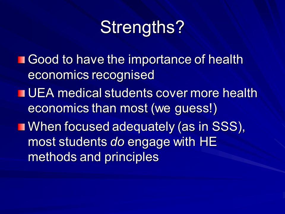 Strengths.