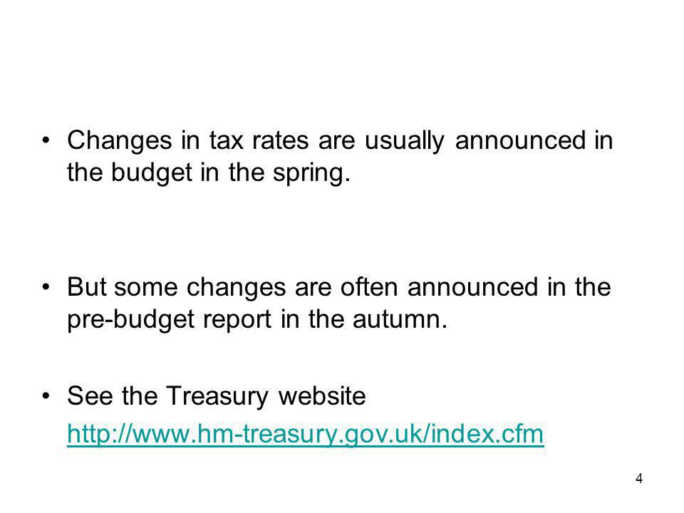 5 The IFS (Institute for Fiscal Studies) website http://www.ifs.org.uk/http://www.ifs.org.uk/ has a large amount of useful information on taxes.