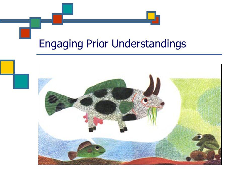 Engaging Prior Understandings