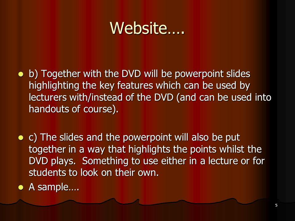 5 Website….
