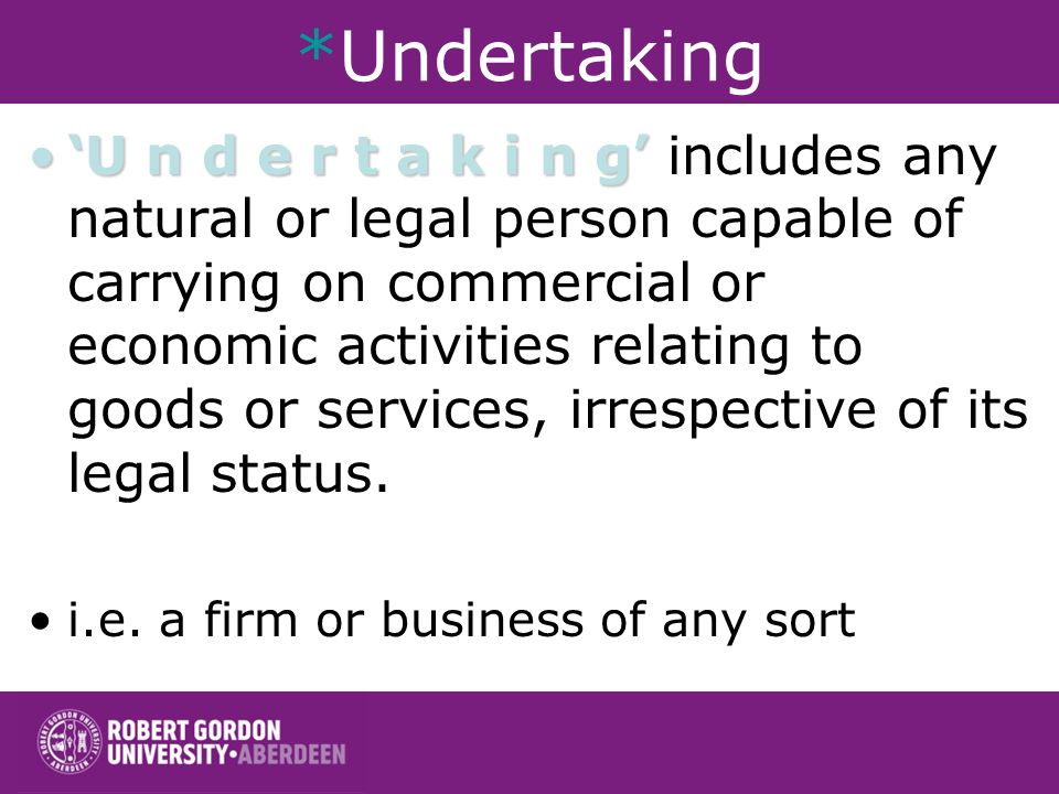Article 81 of the EC Treaty 1. The following shall be prohibited as incompatible with the common market: –all agreements between undertakings*, decisi